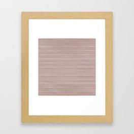 Pale Pink Dogwood Weathered Whitewash Wooden Beach House Framed Art Print