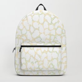 Pale pink stains. Backpack