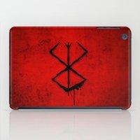 berserk iPad Cases featuring The Berserk Addiction by DesignDinamique