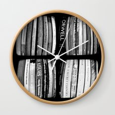 The Bookshelf - Through The Viewfinder (TTV) - Polyptych Wall Clock