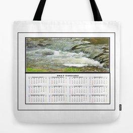 Stream 2017 Calendar Tote Bag