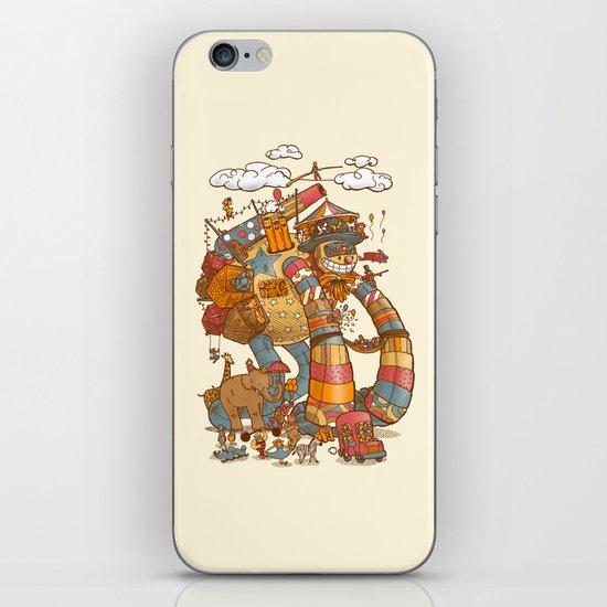 Circusbot iPhone & iPod Skin