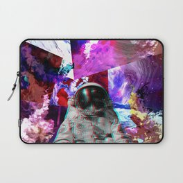 Retro Space Man Two Laptop Sleeve