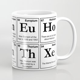 Fun Facts of the Elements Coffee Mug