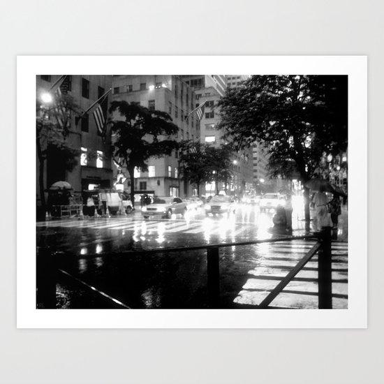 Rainy Day, Dream Away Art Print