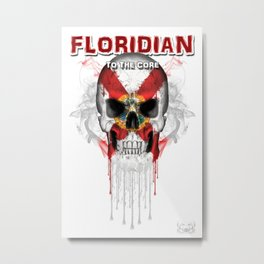 To The Core Collection: Florida Metal Print