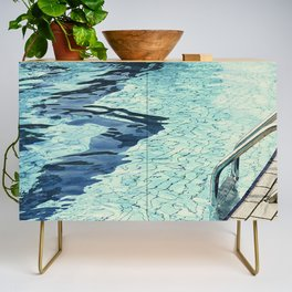 Summertime swimming Credenza