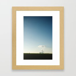 Forge of Clouds Framed Art Print