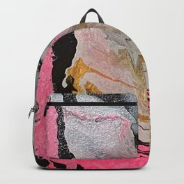 Pink Marble 1 Backpack