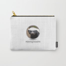 OS XI Honey Badger don't give a shit. Carry-All Pouch