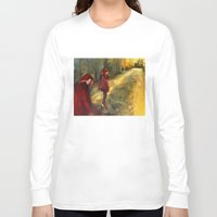 agnes Long Sleeve T-shirts featuring Agnes - Autumn by Dawn Dudek