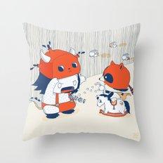 Fumira Monsta Throw Pillow