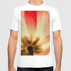 Bloom Mens Fitted Tee MEDIUM White