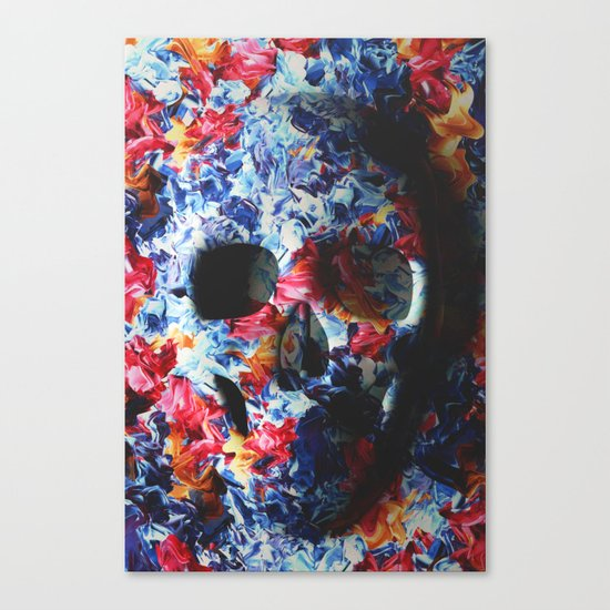 Skull (light version) Canvas Print