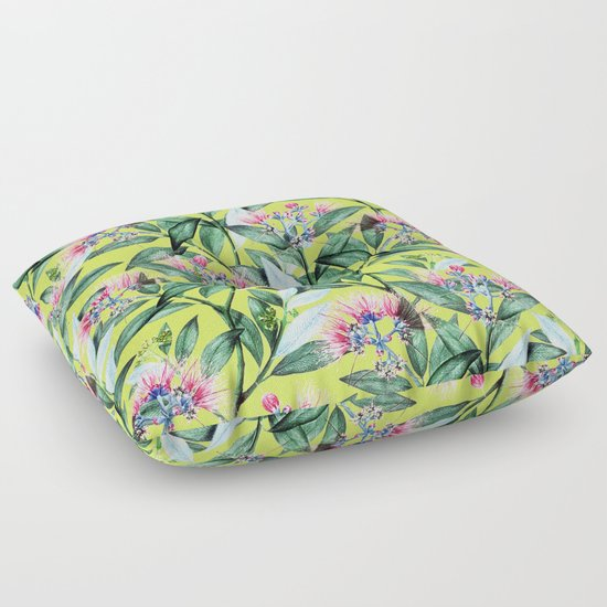 Floor Pillows Society6 : Floral Cure #society6 #decor #buyart Floor Pillow by 83 Oranges Society6