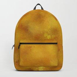 Yellow orange batic look. Backpack