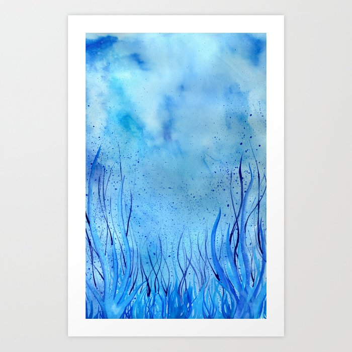 In the Waves Art Print