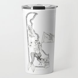 Delaware Mermaid Travel Mug