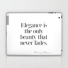 Elegance by Audrey Hepburn Laptop & iPad Skin