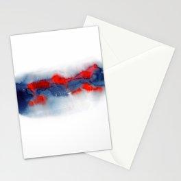 Burning Horizon Stationery Cards