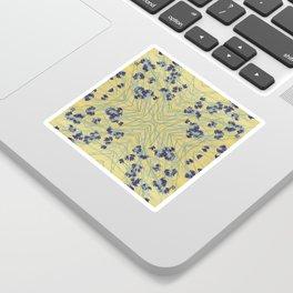 Smoke Tree Blooming Sticker