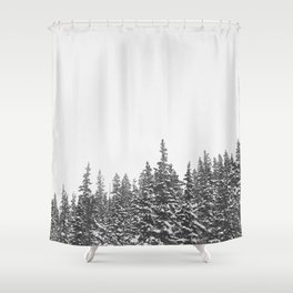 i-70 west Shower Curtain