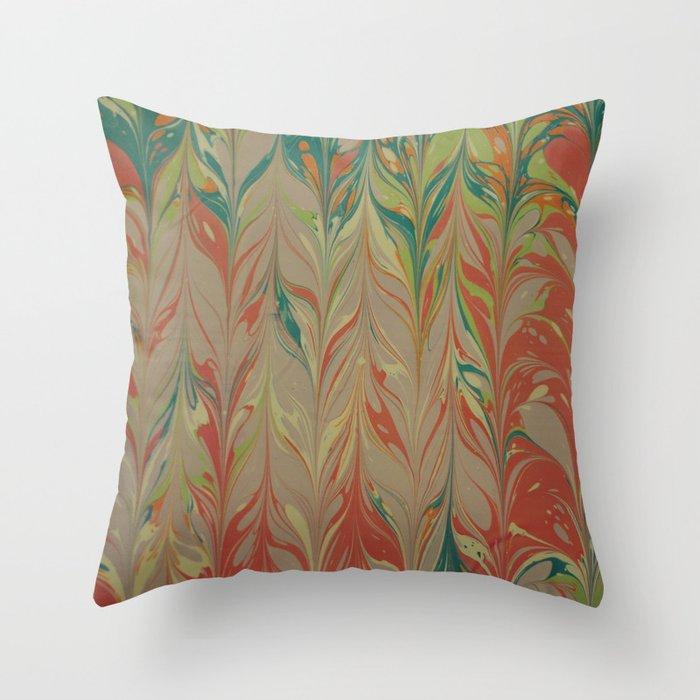 Marble Print #4 Throw Pillow