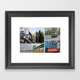Memphis Memories Framed Art Print