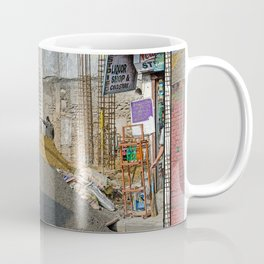 CONSTRUCTION SITE POKHARA NEPAL Coffee Mug
