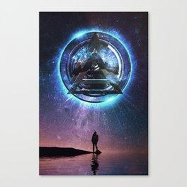 Perceive Canvas Print