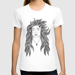 Wind and Hair T-shirt