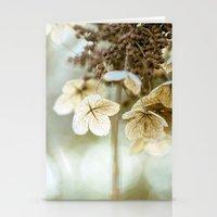 hydrangea Stationery Cards featuring hydrangea by Bonnie Jakobsen-Martin