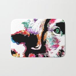 riley the lab pup Bath Mat