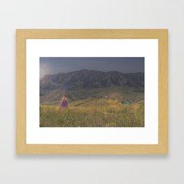 Ambers Glow Framed Art Print