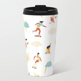 You go, girl pattern! Travel Mug