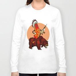 bad ass hotdog Long Sleeve T-shirt