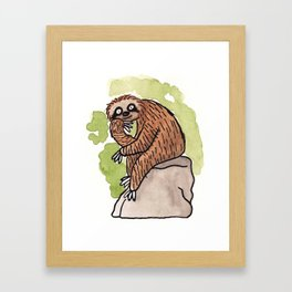 Feeling Philoslothical Framed Art Print