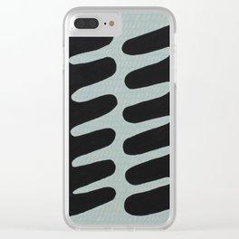 Vertebrae Clear iPhone Case