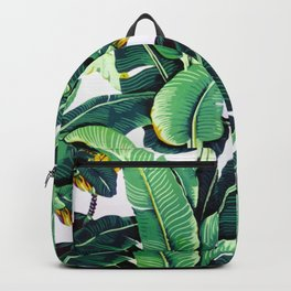 Tropical Banana leaves pattern Backpack