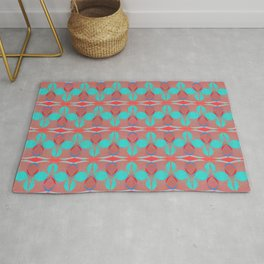 Deco Cowrie (Red) Rug