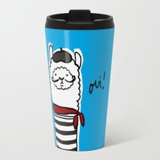 French Alpaca Travel Mug