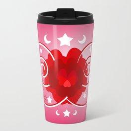 Flower of hearts Travel Mug