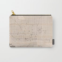 Vintage Wilmington NC Map (1901) Carry-All Pouch