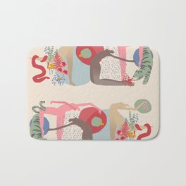 Rain Dance Bath Mat