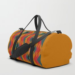 Spotty triangles Duffle Bag
