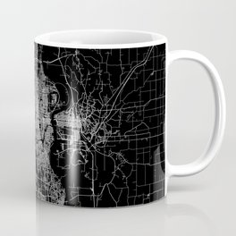 omaha map nebraska Coffee Mug