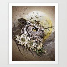 owl Art Print
