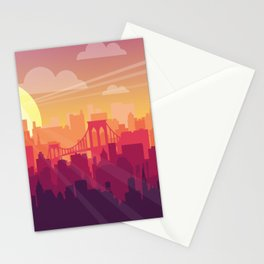 Brooklyn Sunset Stationery Cards