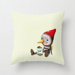 Tin Boy Throw Pillow
