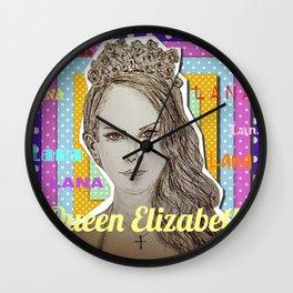 (Queen Elizabeth - Lana) - yks by ofs珊 Wall Clock